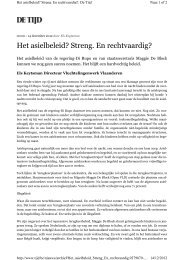Opiniestuk PDF - Vluchtelingenwerk Vlaanderen