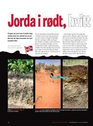 Du kan lese mer og se bilder av alle jordtypene her ... - Nysgjerrigper