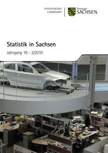 Statistik in Sachsen, 2/2010 [*.pdf,  3,58 - Statistik - Freistaat Sachsen