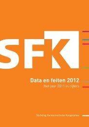 Data en feiten 2012 - Stichting Farmaceutische Kengetallen