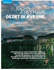 Download artikel om Igors Æblehave - Mediehuset Luksus