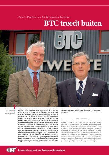 BTC treedt buiten de muren - Twentevisie