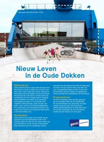 Nieuwsbrief december 2012 - Complexe stadsprojecten