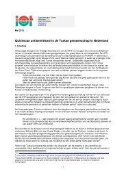 Quickscan antisemitisme in de Turkse gemeenschap in ... - IOT