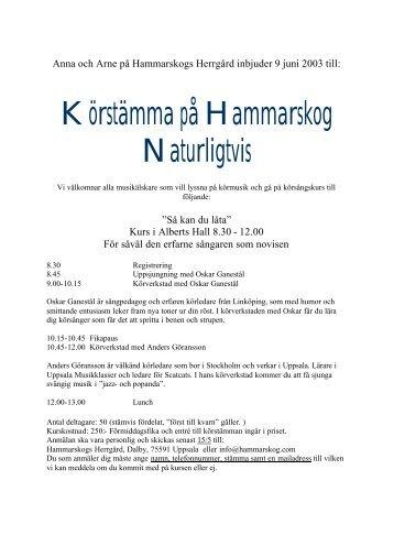 Hammarskogs Magazines