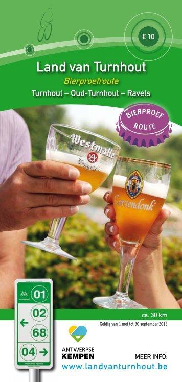 klik hier voor de brochure bierproefroute - Land van Turnhout