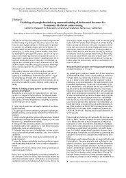 To metoder til effektiv undervisning - Inerisaavik
