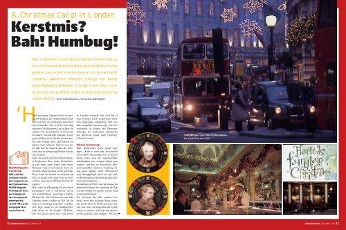 A Christmas Carol in Londen (R12-2005) - REIZEN Magazine