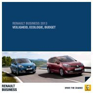 renault BUSINESS - Renault.be