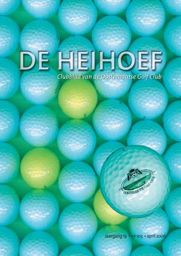 april - Oosterhoutse Golf Club