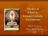 middle ages catholic sacraments