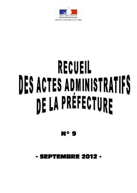 Raa Septembre 2012 Préfecture
