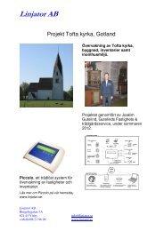 Läs om projekt Tofta kyrka - Linjator AB