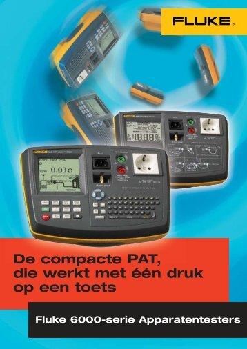 De compacte PAT, die werkt met één druk op een toets - Meetwinkel