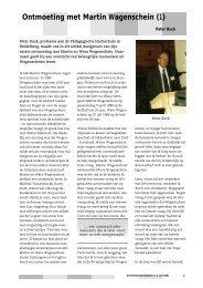 Ontmoeting met Martin Wagenschein (1) - Exemplarisch onderwijs