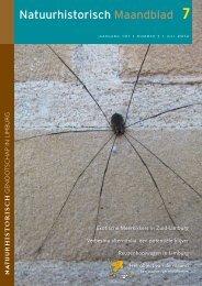 Natuurhistorisch Maandblad - Natuurbalans