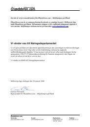 Pressmeddelande angående skrivelse till ... - Ölandsbron.com