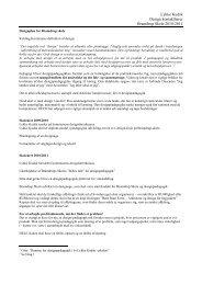 Designplan for Bramdrup skole