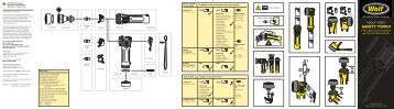instruction manual - ATEX Torches - Safety Lamp of Houston Inc.