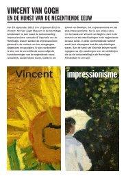 Docentenhandleiding Nederlands - Van Gogh Museum