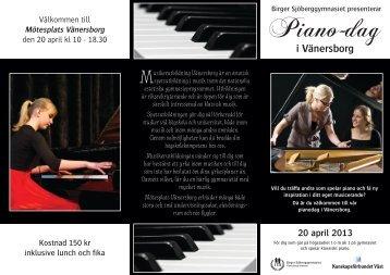 Piano-dag