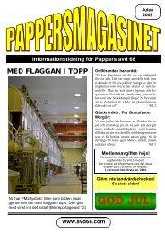 Julnummer 2008 - Pappers - Avd 68