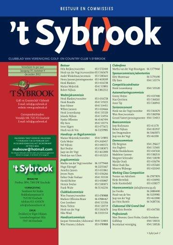 Clubblad 2012 nummer 4 - Sybrook
