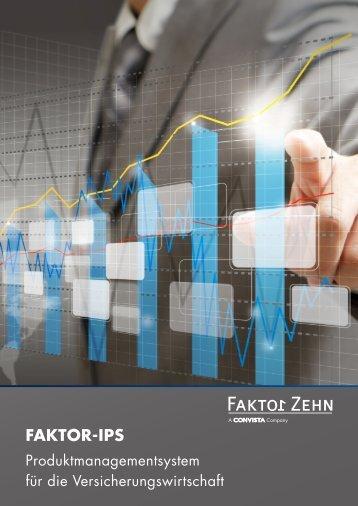 Flyer Faktor-IPS - Faktor Zehn