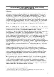 1 Voorstel van resolutie ter bestrijding van vrouwelijke genitale ...
