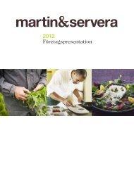 Företagspresentation för Martin & Servera (PDF-dokument, 831