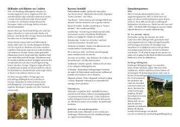 Skillnader och likheter ses i möten Samarbetspartners Kursens ...
