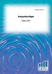 Konjunkturläget hösten 2007 - ÅSUB