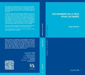 LES DANGERS DE LA TÉLÉ POUR LES BÉBÉS - Yapaka