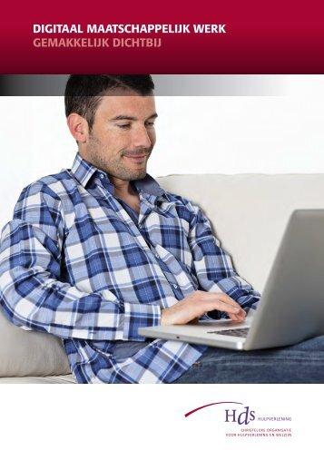 Folder Digitaal Maatschappelijk Werk - HDS Hulpverlening