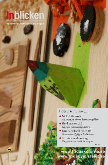 Nr 1, 2010. - Fridaskolan