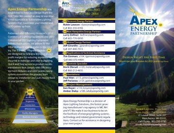 ENERGy PARTNERSHIP - Apex Lighting Solutions