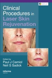 Clinical Procedures in Laser Skin Rejuvenation