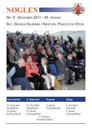 2011 - Sct. Georgs Gilderne i Næstved