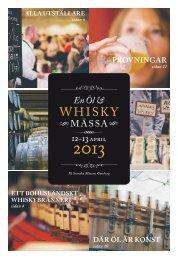 En Öl & Whiskymässans tidning - Wong Måltid & Marknad