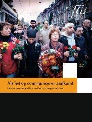 Als het op communiceren aankomt - Nederlands Genootschap van ...