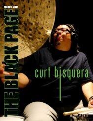 MARCH 2011 - The Black Page Online Drum Magazine