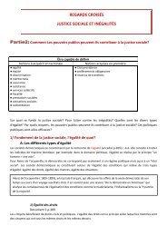 Plan du cours et documents