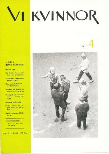 1960/4 - Vi Mänskor