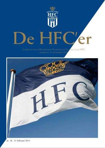 nr. 18. 21 februari 2011 - Koninklijke HFC
