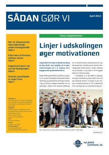 Sådan gør vi, april 2012 - Aalborg Kommunale Skolevæsen