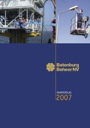 Jaarverslag 2007 - Batenburg