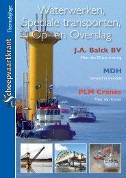 Waterwerken, Speciale transporten, Op - De Scheepvaartkrant