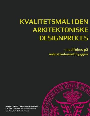 Download rapporten her (pdf) - Kunstakademiets Arkitektskole