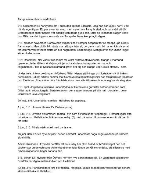 KH2010 Fraktionsutskick - Ulvar - Krigshjärta