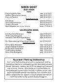 Kirkebladet Oue Valsgaard sogne maj - august 2013 - Oue og ... - Page 3